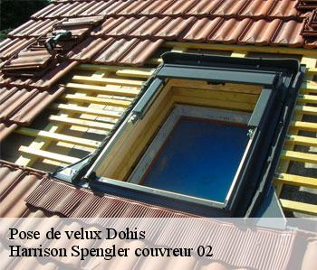 Pose de velux  dohis-02360 Henneville rénovation